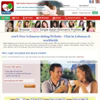 best lebanese dating website Lebanon is rebuilding itself construction sites are everywhere construction lebanon has a relatively good health care program and some free hospitals.